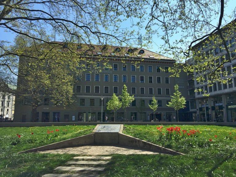 Luitpoldblock Außenansicht Platz der Opfer des Nationalsozialismus