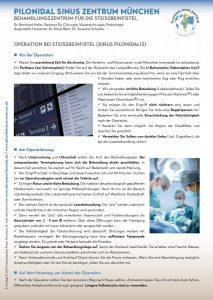 Behandlung Pilonidalsinus Deutsch 2020